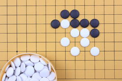 The game of go Royalty Free Stock Photo