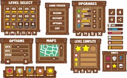 Game gui 5 Royalty Free Stock Photo