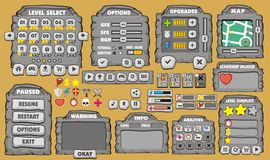 Game gui 24 Royalty Free Stock Images