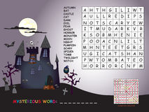 Game for halloween Stock Photos
