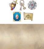 Game icon set Royalty Free Stock Image