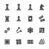 Game icon set. Vector illustration Stock Photo