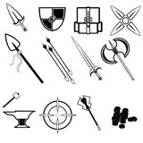 Game Icons Stock Images