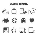 Game icons Stock Image