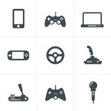 Game icons:  set of gadget signs Royalty Free Stock Photo