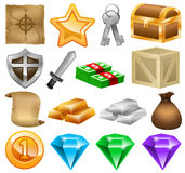 Game Icons, Social Game, Online Game, Game Development Stock Image