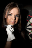 Game In A Darts Stock Photography
