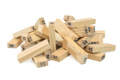 Game Jenga Stock Photography