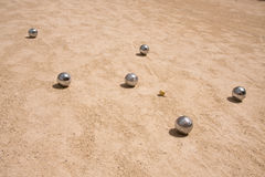 Game of jeu de boule Royalty Free Stock Image