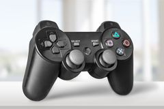 Game. Joystick controller station play joypad wireless Stock Images