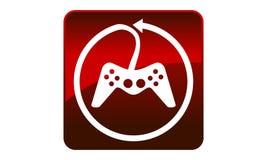 Game Joystick Logo Royalty Free Stock Photos