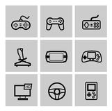 Game and joystick Stock Photos