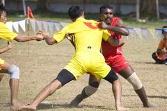 Game of Kabaddi Royalty Free Stock Photography