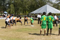 Game of Kabaddi Royalty Free Stock Images