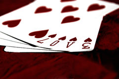 Game of Love Royalty Free Stock Photos