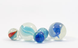 Game marbles Stock Image