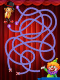 A game maze Stock Image