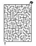 Game maze Royalty Free Stock Photo