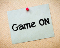 Game ON Royalty Free Stock Image