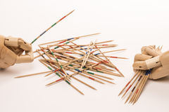 Game of mikado Royalty Free Stock Photography