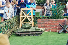 The game models of tanks on the remote control Royalty Free Stock Images