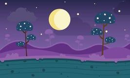 Free Game Modern Style Background With Mushroom Night Stock Photo - 109859190