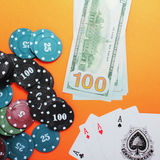 Game for Money Stock Photography