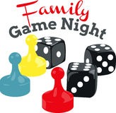 Game Night Stock Photography