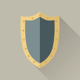 Game Object of Warrior Shield Stock Photo