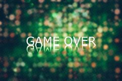 Game over Background Stock Images