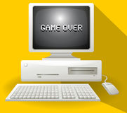 Game over computer concept Stock Photo