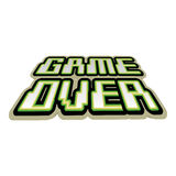 Game over concept Stock Photo