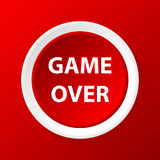 Game over icon Stock Photography