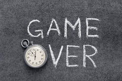 Game over Royalty Free Stock Images