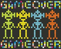 Game over - retro game Stock Image