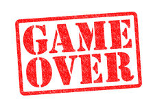 GAME OVER Royalty Free Stock Image