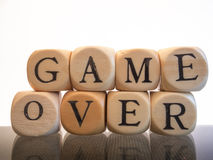 Game over Royalty Free Stock Photography