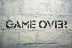 Game over Stock Photos