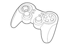 Game-pad Stock Image