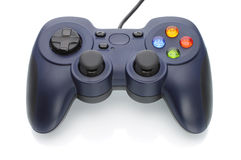 Game pad. On white background Royalty Free Stock Photography
