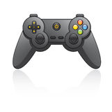 Game Pad. Cartoon illustration of a game pad Royalty Free Stock Photo