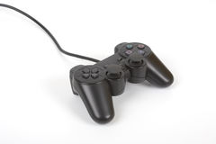 Game pad. Video game controller pad - over a white background Royalty Free Stock Photography