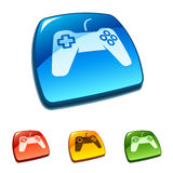 Game pad symbol. Vector illustration Royalty Free Stock Image