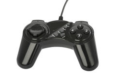 Game pad wih clipping path Stock Photos
