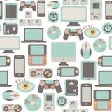 Game pattern Royalty Free Stock Image