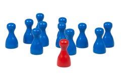 Game pawns Stock Photos