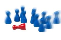 Game pawns Stock Photo
