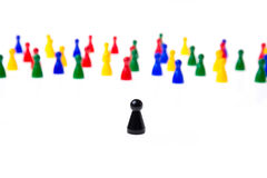 Game pawns Stock Image