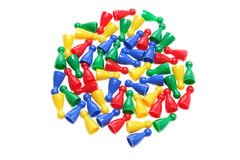 Game Pegs Stock Images