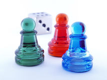 Game pieces Stock Photos